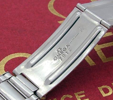 omega railmaster bracelet 7912