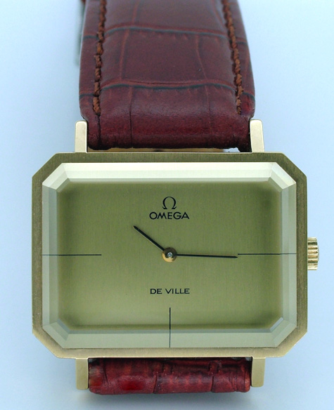 omega deville dress watch