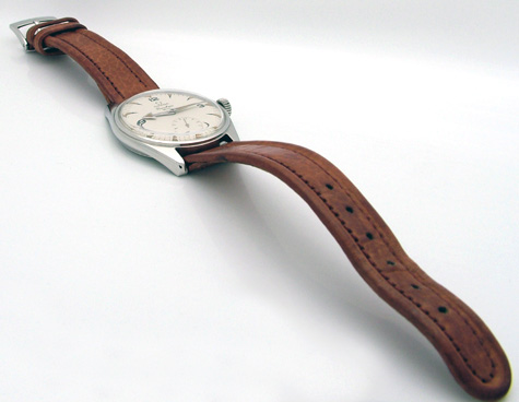 1957  omega leather strap