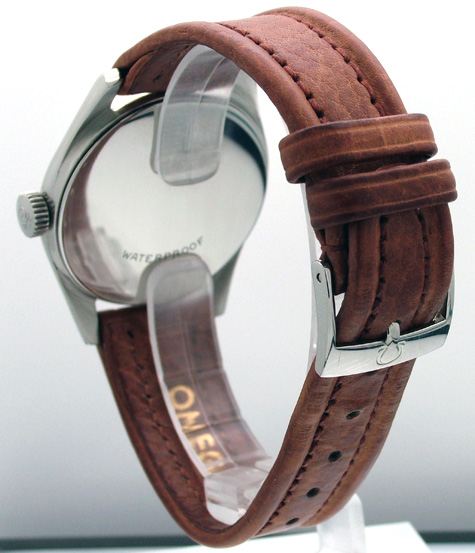 original omega leather strap