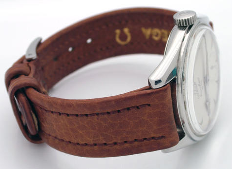 ranchero  omega leather strap