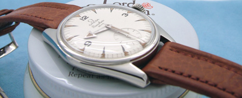 original omega leather band